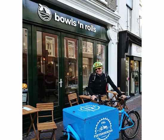fietsbezorging catering
